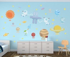 Print Large Format Wall Sticker Space Trip Space Kids Kids