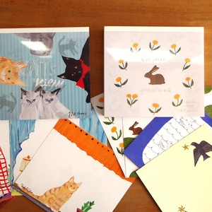 Made in Japan Cat Designer Block Memo Pad