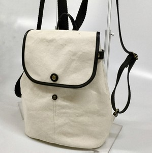 Swing Backpack Canvas Spain Leather Cow Leather
