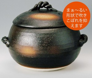 Rice Earthen Pot / Clay pot Made in Japan