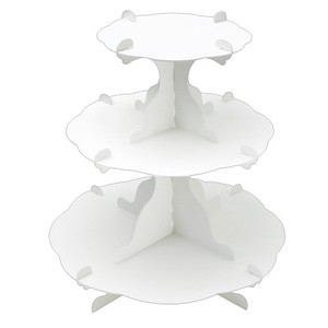 Hand Maid Material Assembly 3 Steps Table White