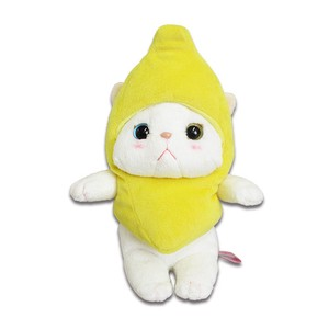 Cat Banana Soft Toy Size S
