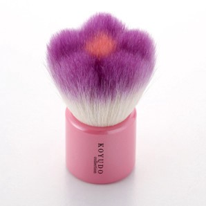 Kumano Brush Flower Face Wash Brush Violet Flower Series