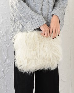Appreciation Fur Clutch Bag Clutch Fur Bag Fancy Goods Fluffy Chain Bag