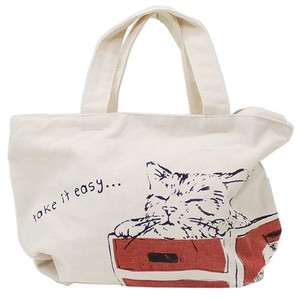 Lunch Bag Canvas Bag Take It Easy
