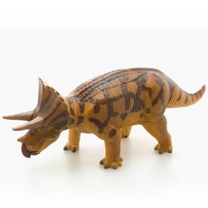 Triceratops Brown Big Figure soft Vinyl Model