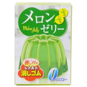 Melon Jelly Mix Aroma Attached Retort Eraser
