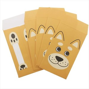 Objects and Ornaments Ornament Dog Shiba Dog New Year'S Gift Bag 5 Pcs Set