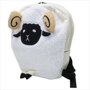 Trip Sheep Fluffy Daypack Natural White Animal