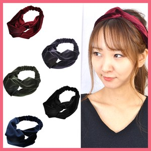 Velour Closs Hair Band