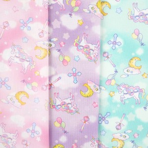 IRO COLE Fabric Unicorn Planet 3 Colors Fabric Handmade