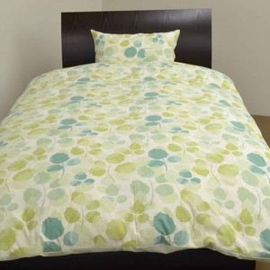 Leaf Bedspread Cover Mattress Cover Pillow Case
