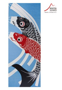 Hand Towel Tenugui (Japanese Hand Towels) Carp Streamer May