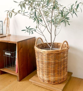THE AROROG Run Basket Natural Antique
