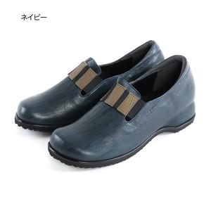 【日本製 本革】コンフォートパンプス シュリンクレザー ワイズ4E