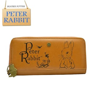 Peter Rabbit Round Wallet Long Wallet Round Camel