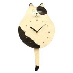 Clock/Watch Swing Japanese Paper Hand Maid Japanese Craft Interior