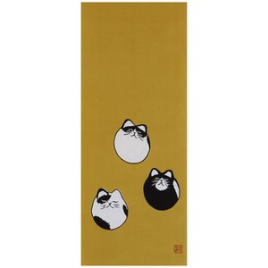 Hand Towel Cat Japanese Craft Cat