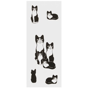 Hand Towel Jiro Japanese Craft Cat