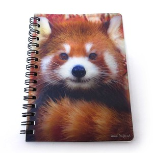 Stationery Ring Notebook Panda Bear