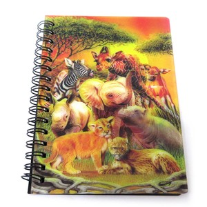 Stationery Ring Notebook Animal Kids