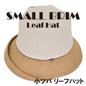 Leaf Charm Hat Ladies Bolt Adjustment