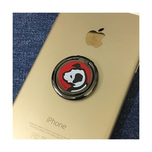 Nipper Victor Smartphone Ring Black Red Ring Hall Drring