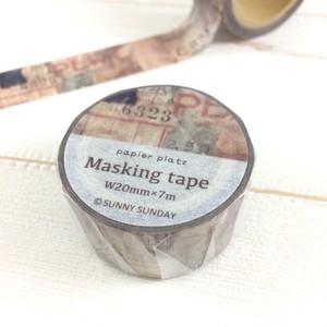 SUNNYSUNDAY マスキングテープ