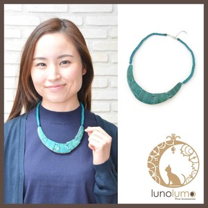 Green Color Ethnic Necklace