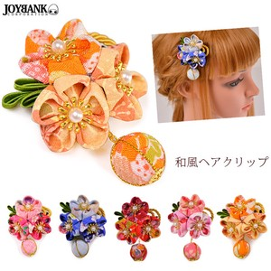Knob Three Flower Japanese Style Decoration