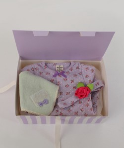 Dot Floral Cover All Gift Box Set 3-unit Set