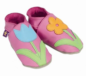 Baby Shoe Room Shoe Floral Pink