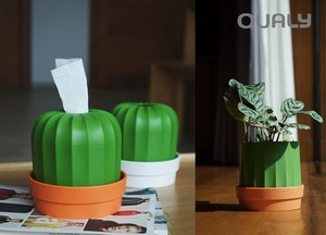 Paper Tissue Cactus Paper Holder Planter