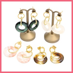 Style Triple Ring Pierced Earring