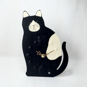 Unisex Clock/Watch Japanese Paper Cat