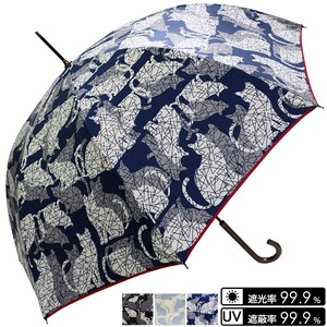Umbrella Unisex Cat Silhouette One push Umbrellas