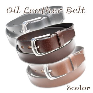 Oil Leather Belt Cow Leather