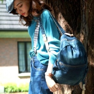 Denim Pack Bag Travel Bag