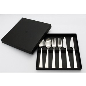 Cutlery Set Spoon Fork Knife Stainless Hair line