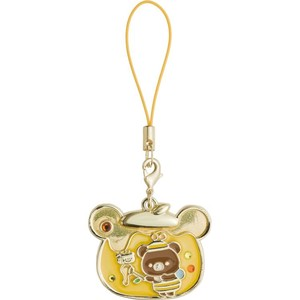 Rilakkuma Strap Charm Brown Harvest