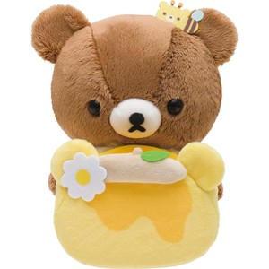 Rilakkuma Multi Stand Soft Toy Brown Harvest