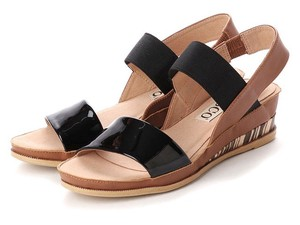 3 Colors S/S Genuine Leather Bag Band Bi-Color Casual Sandal