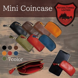 Tochigi Leather Series Coin Case Cow Leather