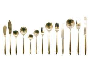 Cutlery Stainless Gold Plate