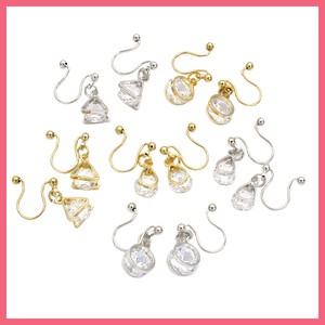 Cubic Chief Lip Earring