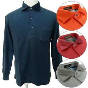 Men's Both Sides Gigging Polo Shirt Checkered Polo Shirt