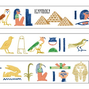 Washi Tape Ancient Egypt