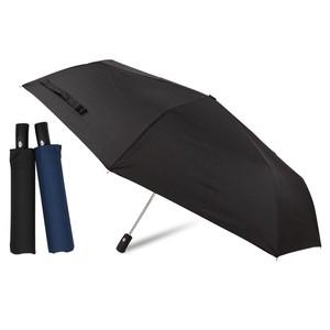 [65cm]折りたたみ傘 安全ストッパー付き 自動開閉 耐風仕様 軽量 大きいサイズ 紳士 メンズ