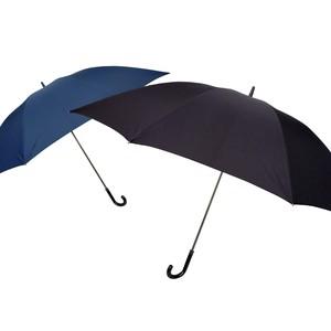 [85cm]長傘 超特大 耐風仕様 手開き式 高密度撥水生地 大きいサイズ 紳士 メンズ