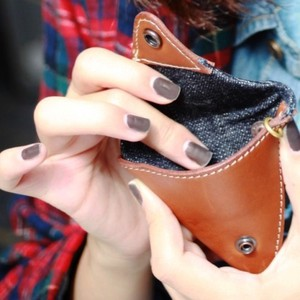 Triangle Case Triangle Coin Case Wallet